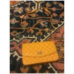 Forever 21 Yellow crossbody bag